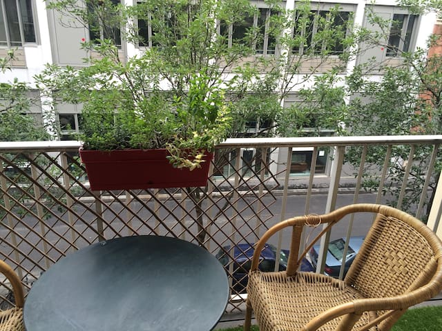 Beautiful apartment with balcony near Bastille - Paris - Apartemen