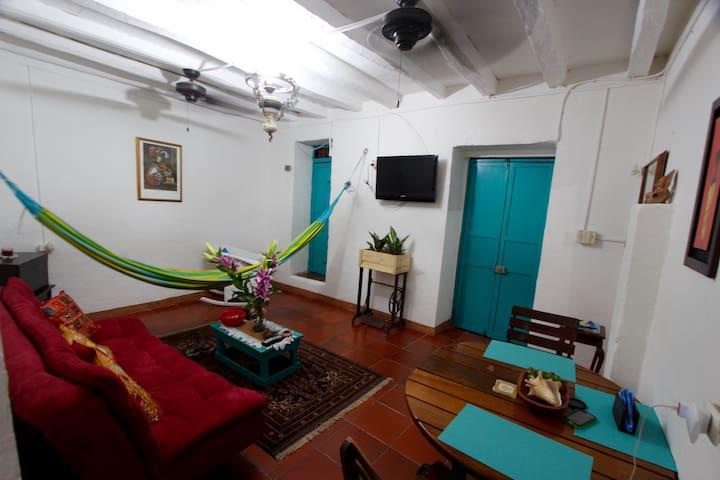 Apartamento En Casa Juan Cartagena