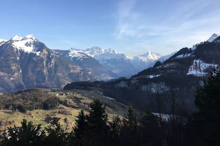 Guest Flat in the Swiss Mountains (Lake View) - Seelisberg - Wohnung