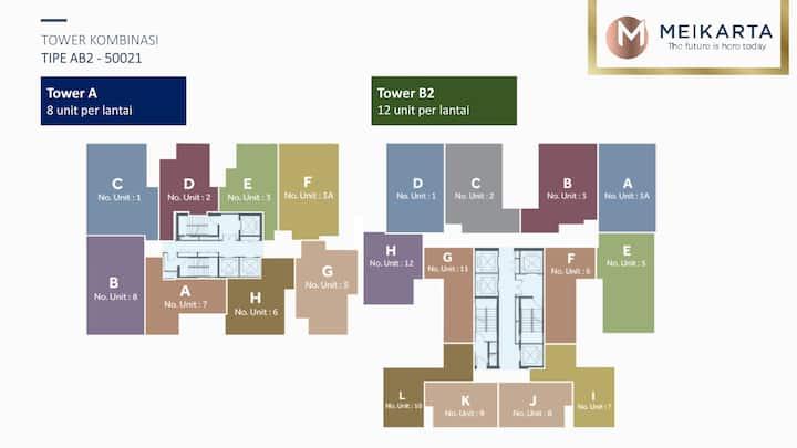 Jual unit unit apartement meikarta