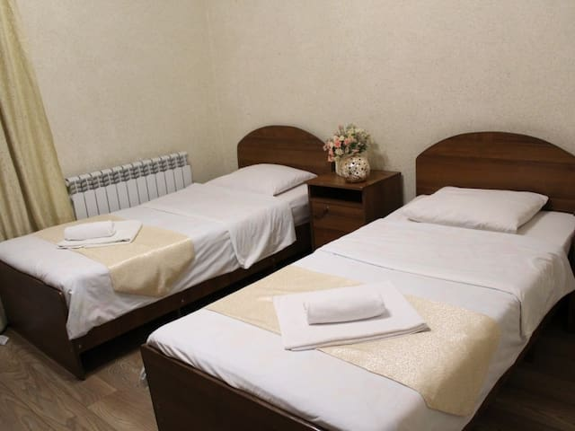 Twin room. Katrin Guest House
