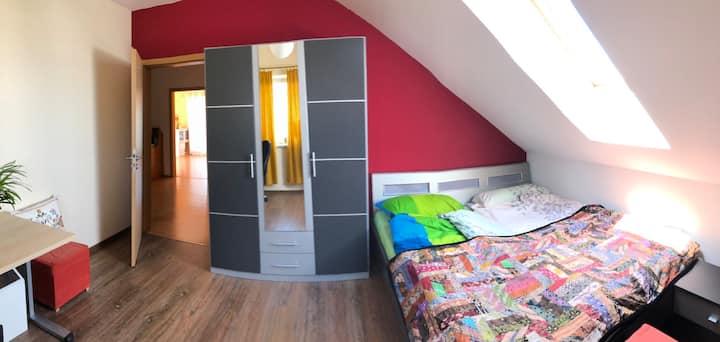 Studio in Privathaus, am Jakobsweg