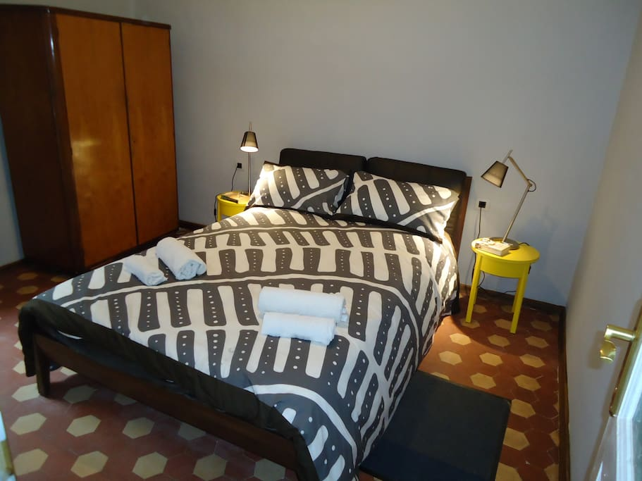 One bedroom with comfy double bed!