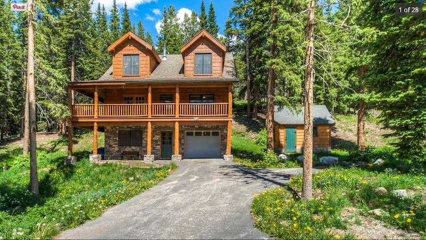 Cozy Breckenridge lockoff unit in log cabin home - Breckenridge - Flat