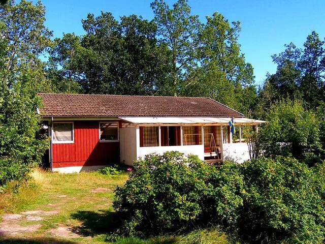 Haus Törnrosa an der Ostsee mit eigenem Boot - Oskarshamn S - 度假屋