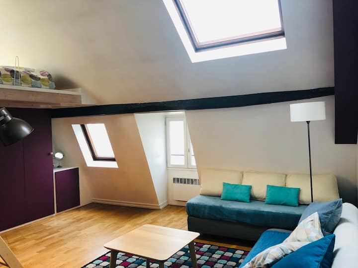 Loft, fully furnished - Bail mobilité