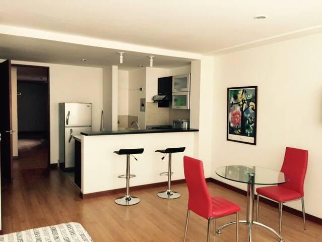 Apartaestudio.Moderno Loft en Zona Exclusiva