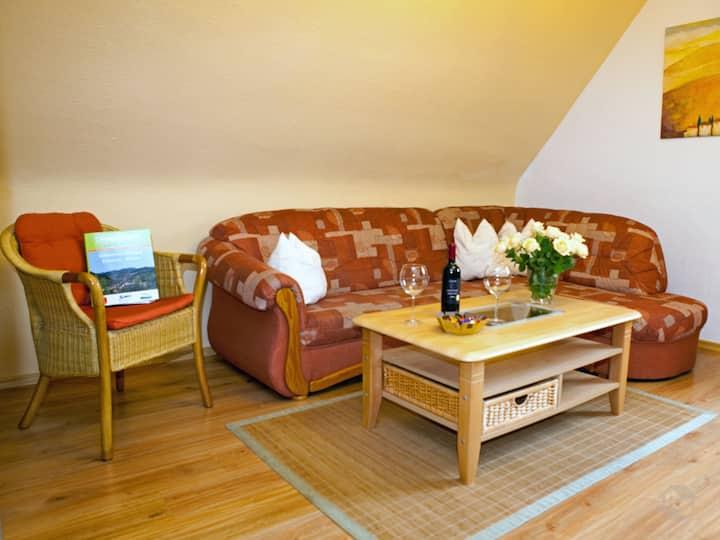 Haus am Mühlenweg, (Ottenhöfen), NR-Ferienwohnung, 75qm, 2 Schlafzimmer, max.4 Personen