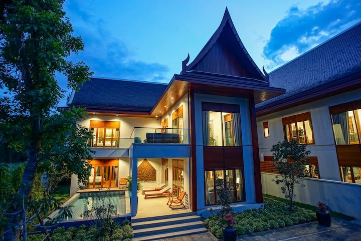 Garden Villa - Private Pool / Free Airport Transfer & Free Breakfast  / Restaurant