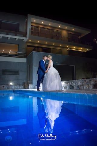 # ❤️De Luxe Villa*Pool*8 per*Panoramic Sea View - Ep. Odos Rousas Adravasti Rousa Ekklisia Sitia Lasithi Crete - 別墅