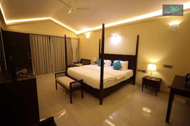 Balinese Villa Bedroom
