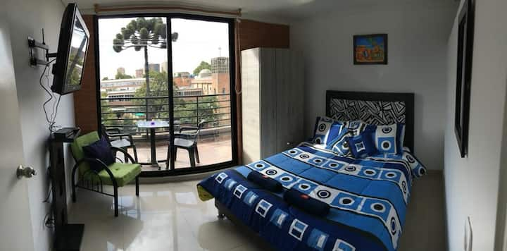 New apartment with a private balcony!