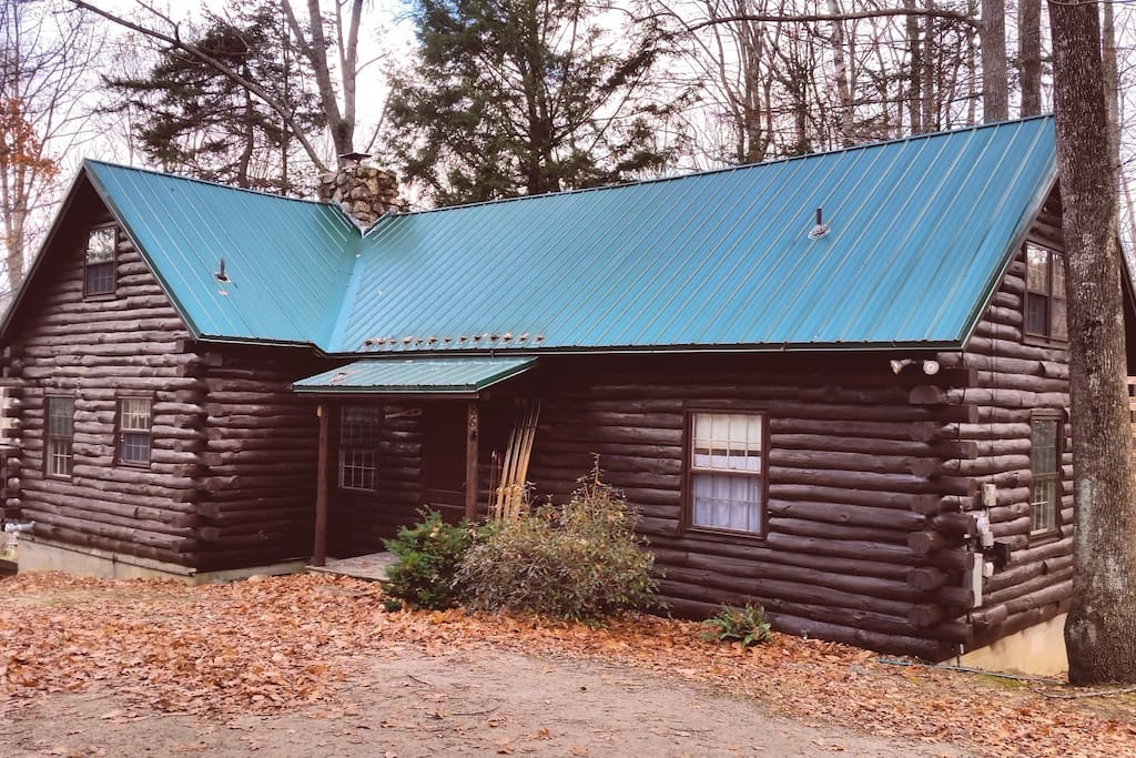 Eagle mountain log cabin cabins for rent in jackson new for Ski cabins in new hampshire