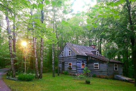 Historic Log Cabin with all Amenities