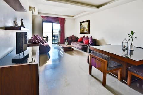 ★ Jdeideh 2-Bedroom Apartment with a View