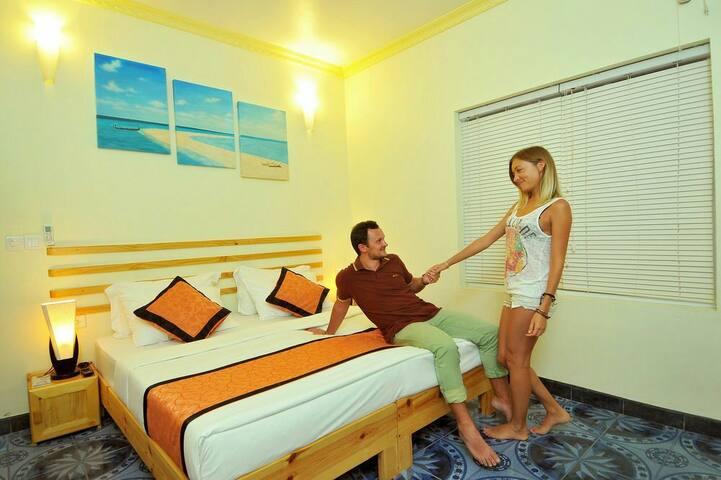 We labor to make a house a home, - Maafushi