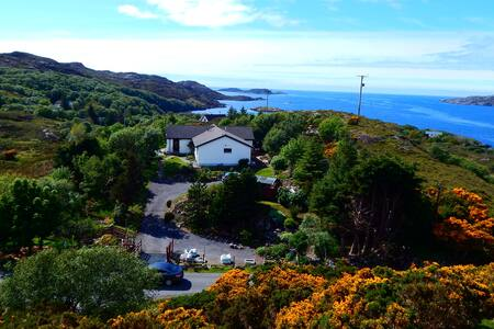 NC 500 |  Lochinver |  Cruachan Holiday Home