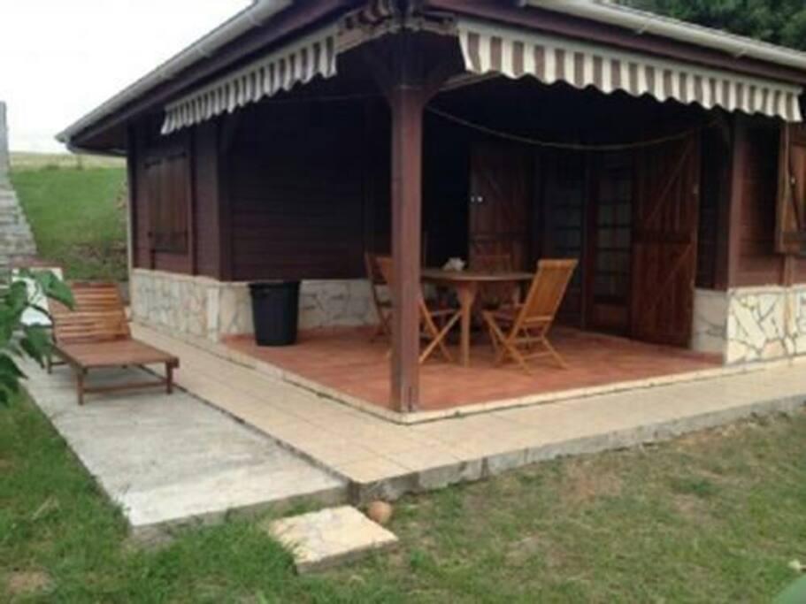 Bungalow coté terrasse