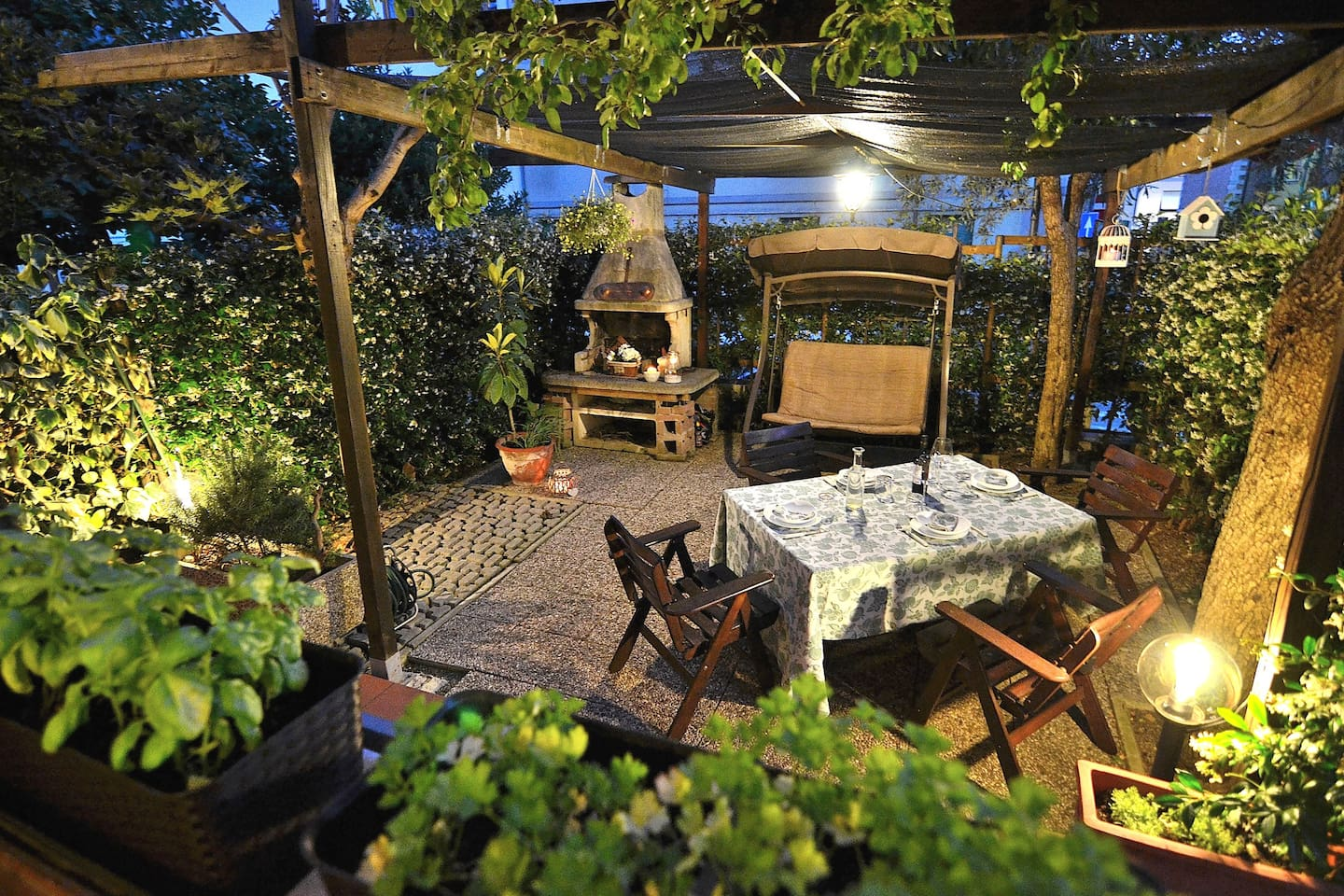 Garden at your disposal. We can prepare for you private Tuscan Dinner (On Request)