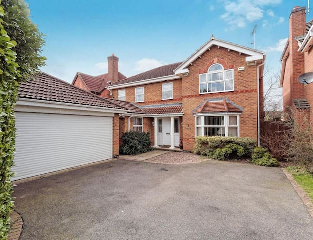 Executive Home outskirts of Derby - Elvaston - Casa