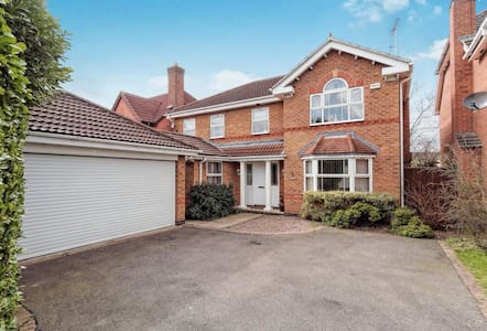 Executive Home outskirts of Derby - Elvaston
