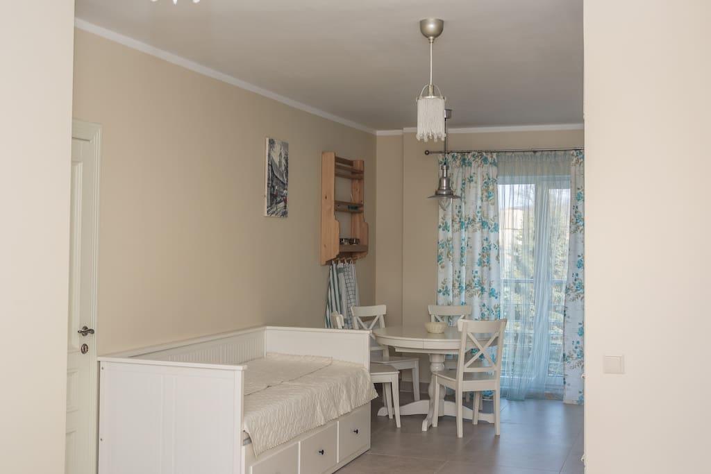 salon z kuchnią ( livingroom)