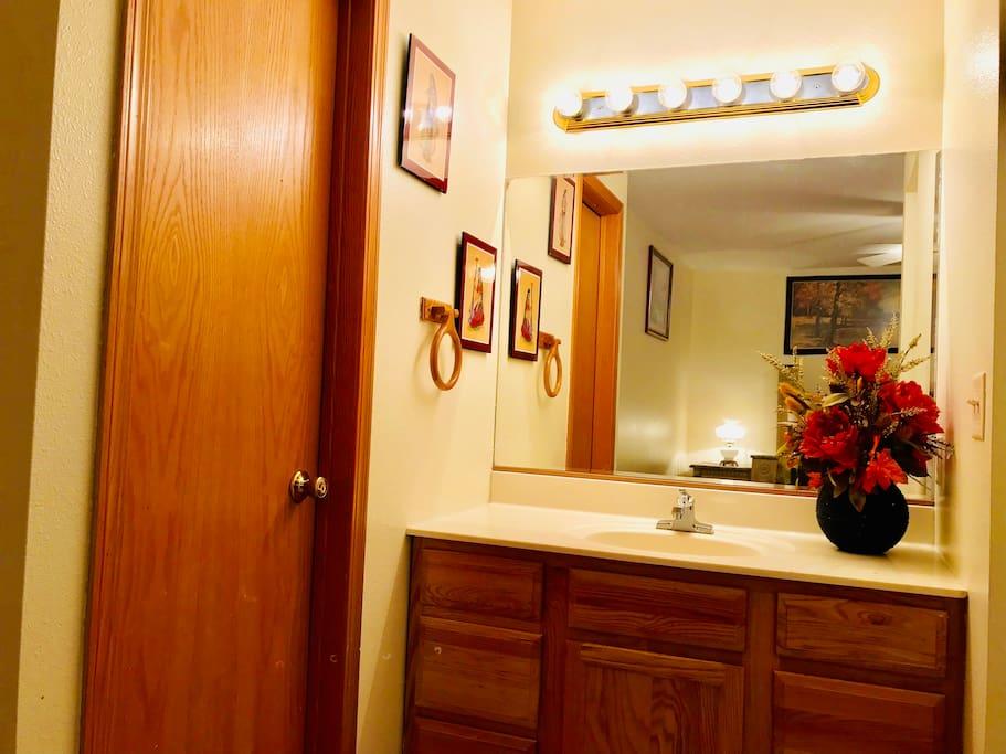 1st Bedroom Vanity