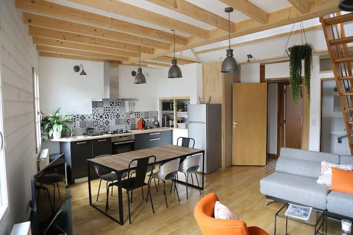 Loire Escale - Duplex côté château - Ancenis - Lejlighed