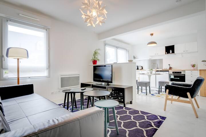 Le Cosmos - Studio avec terrasse - Nantes