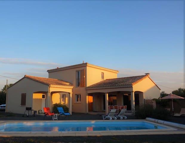 Mediterranean Villa in scenic French countryside