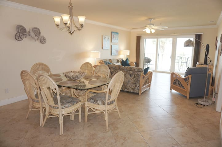 Sea Breeze Gulf front two bedroom condo 103 by TRS