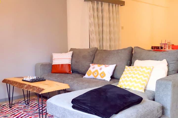 Spacious, tastefully furnished Apartment in Karen