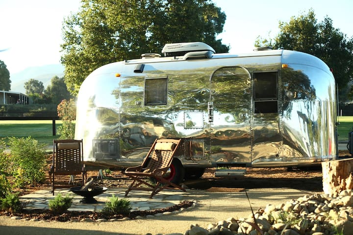 Vintage Airstream at Temecula's Wine Trail #1