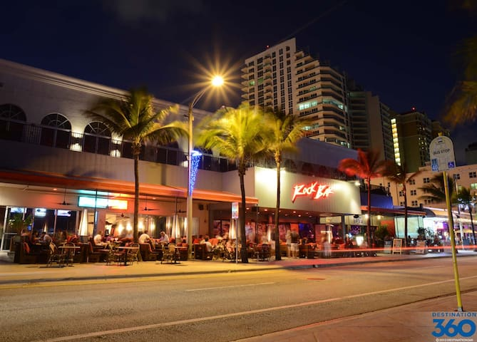 """Fort Lauderdale Strip """"BEACH""""  nightlife has something for every mood, party, dinning, dancing, romancing, or relaxing."""