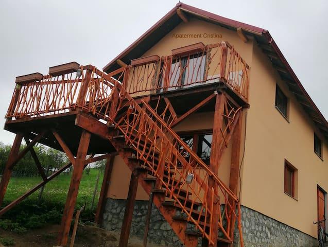 Apartament Cristina für 1 Person