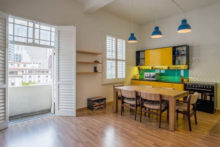 Designer City Centre Apartment w Wifi and Parking - Cape Town - Daire