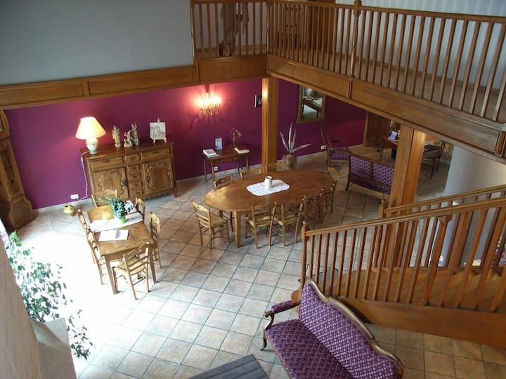 Chambre d'hôtes La Templerie : RUBIS