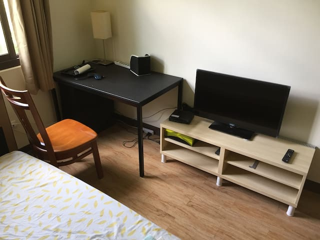 Fresh, warm, clean double bedroom - Nantou City - Apartment