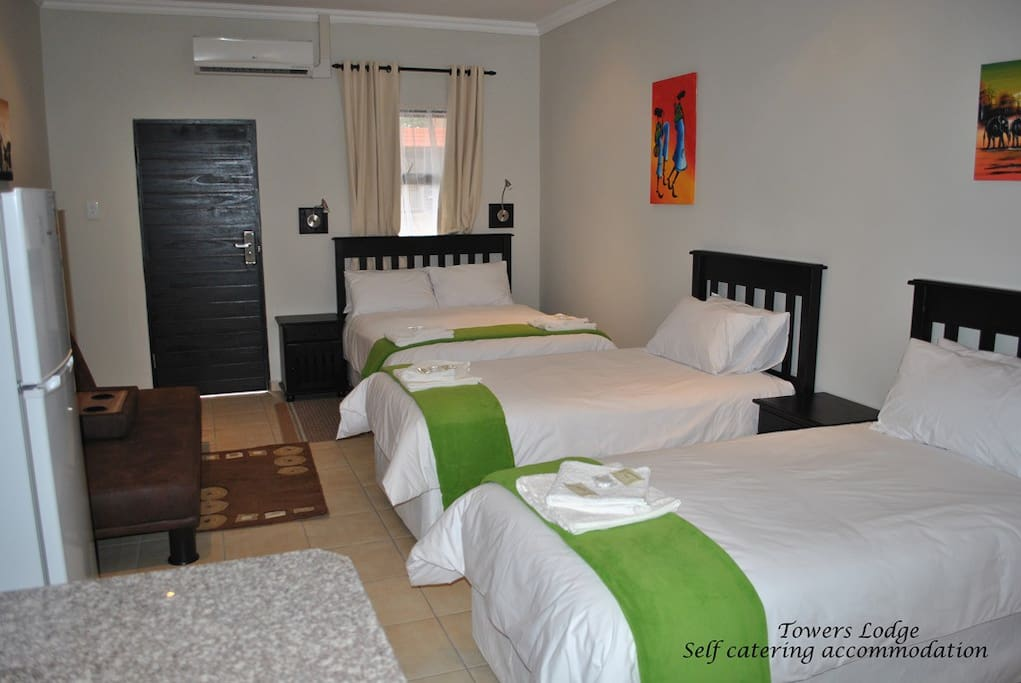 4 x Bed Luxury Self-Catering Room