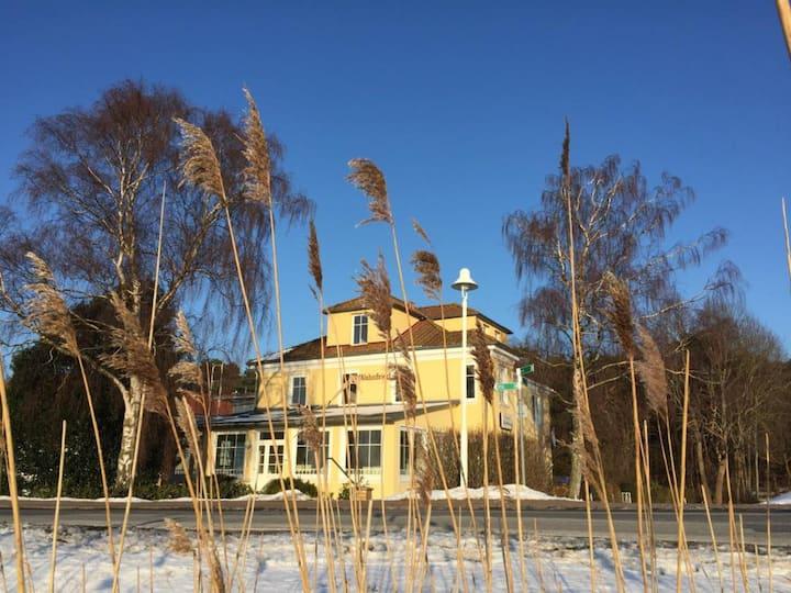 Villa Wahnfried, Haus der Ruhe, Halbinsel Mönchgut