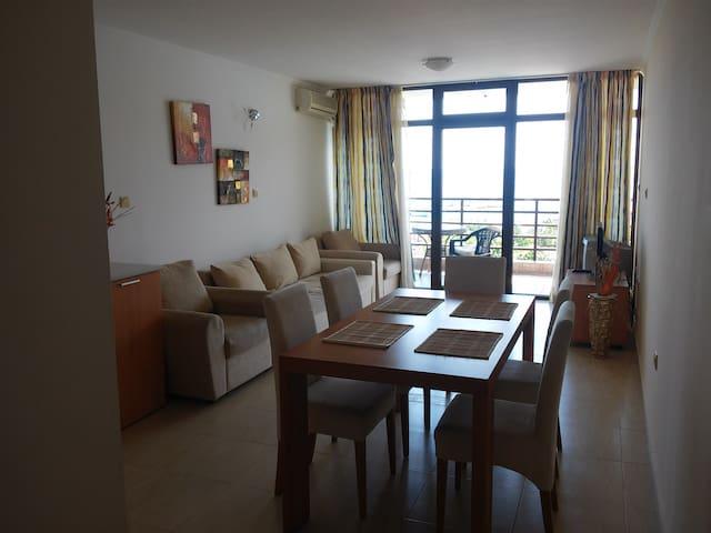 2х спальневая квартира, вид на море - Sveti Vlas - Lägenhet