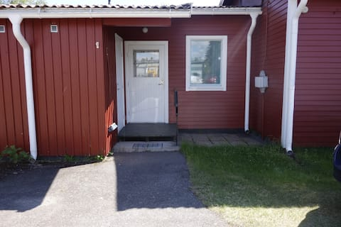 Apartment on ground-floor in  Abborrträsk.