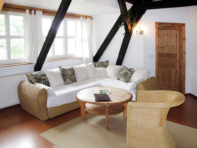 Apartment Pferdehof Bela for 4 persons - Schwarbe