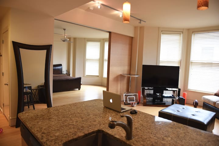 SPACIOUS CONDO ONE BLOCK  from the French Quarter! - New Orleans - Apartment