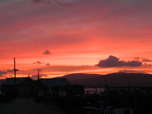 Sunset at Cromarty harbour