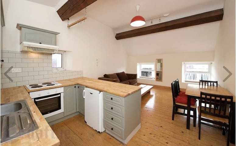 Loft-style, 2 double bed, city centre apartment - Cork - Huoneisto