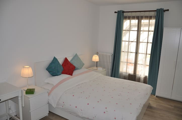 villa de charme à 5 mn d'Amboise suite parentale