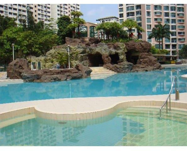 ~Yew Tee Condo in Choa Chu Kang, Near Yew Tee MRT! - Singapura - Kondominium