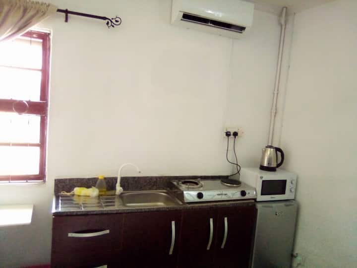Studio2 in Lekki with free unlimited wifi and dstv