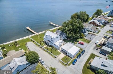 Breathtaking Chesapeake Beach Waterfront Home